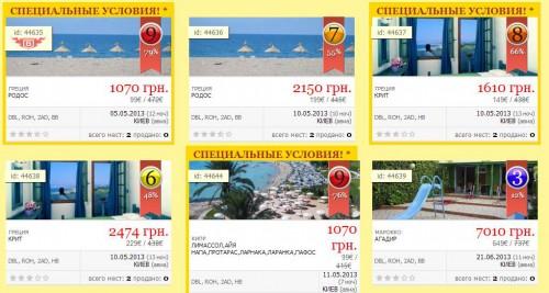 сеть агентств горящих путевок туры по 99 евро