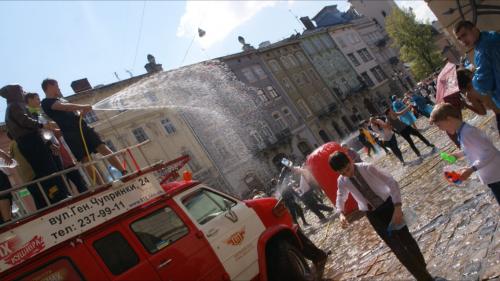 Бамбардир Львов апрель 2014