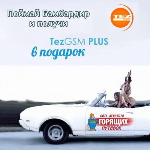 TezGSM PLUS в подарок